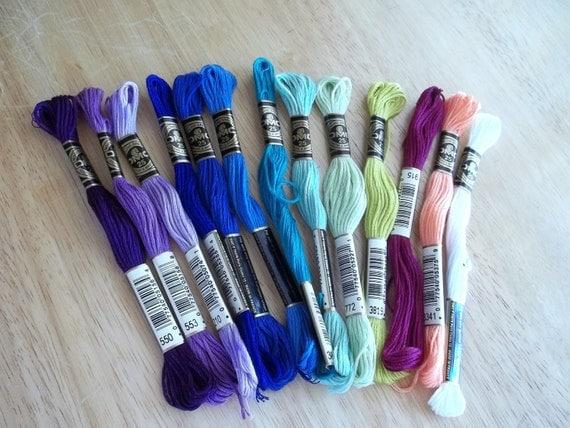 DMC Embroidery Thread Skeins - Floss