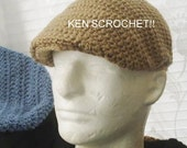 Kangol Style Jeff Cap-PDF Pattern Only