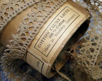 Vintage Cluny Lace Trim Western Germany