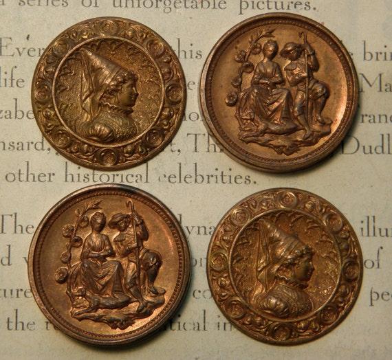 Vintage Brass Stampings
