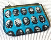 Presidents Zippered Pouch