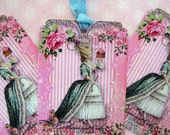Paris Marie Antoinette Cake Tags