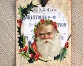 Santa Claus Christmas Gift Tags