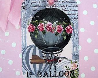 Hot Air Balloon Gift Tags Series Two