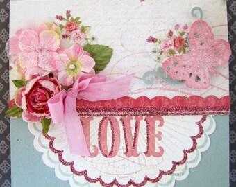 Romantic Shabby Chic  Card