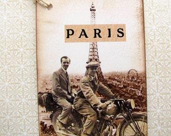 Paris Adventures Gift Tags