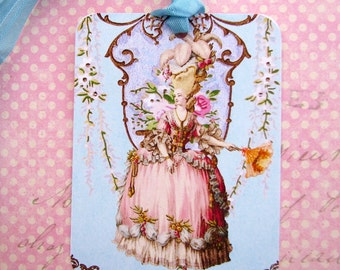 Marie Gift Tags Shabby French Style