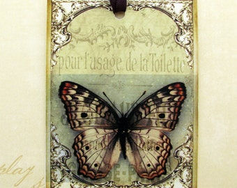 Shabby Butterfly Gift Tags