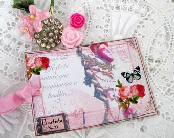 Marie Antoinette Faded Glory Gift Tags