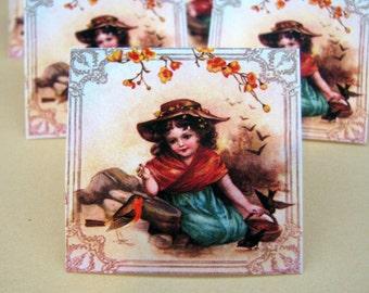 Victorian Garden Mini Cards