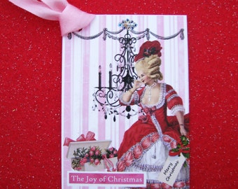 Glamorous Holiday Chic Marie Antoinette Tags