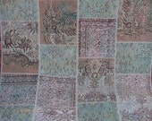 Sea & Sand Revitalized Patchwork Carpet