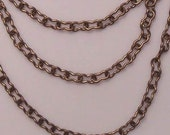 Brass Bouquet's Brass Ox Arial Chain, (sold by the foot) Item 1220