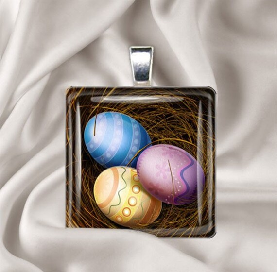 Easter Egg Pendant II