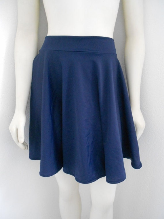Navy Swim skirt to match your Glee swimsuit Made to order