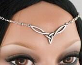 Reserved for Stephanie Buddington - Astra - Celtic Moonlight Maiden Renaissance Circlet/Headpiece