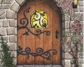 Arched Door Print