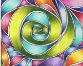 Original Rainbow Swirls