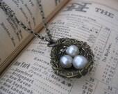 Finch Nest Necklace