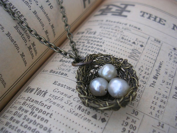 Finch Nest Necklace