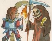 Shadowgate - original NES illustration