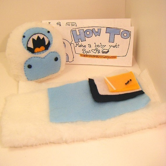 MAKE YOUR OWN BABY YETI KIT -limited stock
