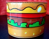 Hamburger Kawaii Cuff