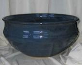 Dark Blue Huge Serving Bowl