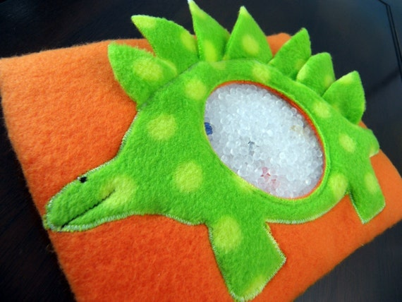Stegosaurus I Spy Bag - for your dinosaur lover - a perfect gift for quiet prehistoric playtime