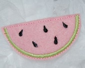 Wool Felt Watermelon Clip by Chic Baby Rose