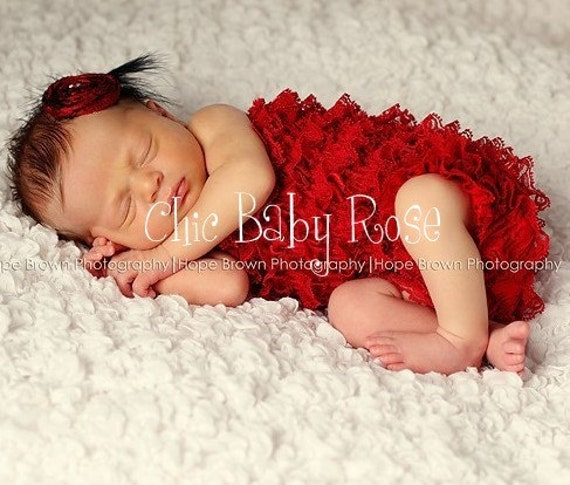 Newborn Petti Romper in 21 Colors by Chic Baby Rose Great Photo Prop