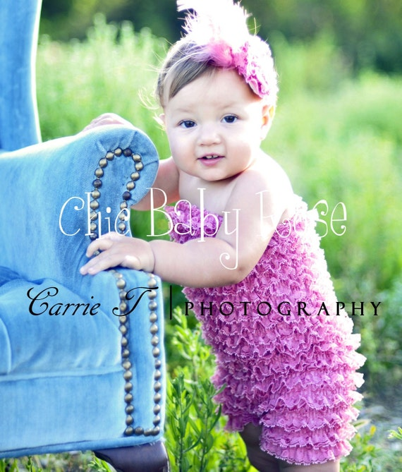 Toddler Pettiromper in 21 color by Chic Baby Rose Great Photography Prop