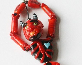 GLASS DEVIL BRACELET