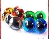 18 mm Animal Amigurumi Plasitc eyes Cat / Fish safety eyes - 5 PAIRS - Mixed colors