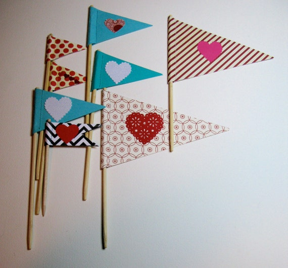SALE valentine flags