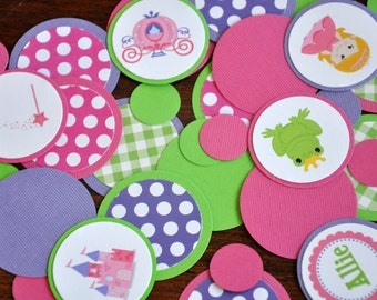 Princess Confetti. Minis. Dots. Table Confetti. Princess. Fairy tale. Prince Charming. 125 pieces. Choose your princess