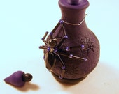 "Spider ""Venom"" Halloween Perfume/Potion Bottle"