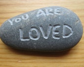 Rock River Stone Engraved YOU ARE LOVED