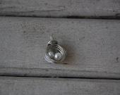 The Original Nest Necklace birds nest pendant
