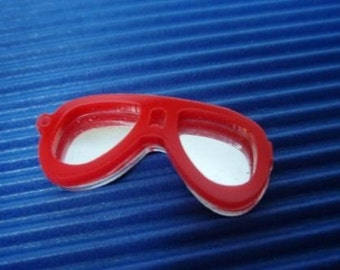kitsch red sun glass charms on SALE