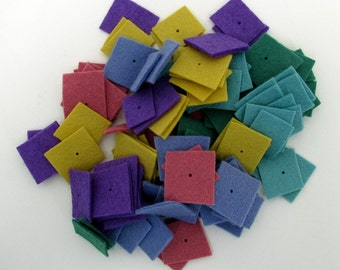 Wool and Hemp Garland Kit -- Meadow colors