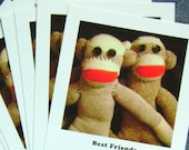 Best Friends Blank Postcards set of 10