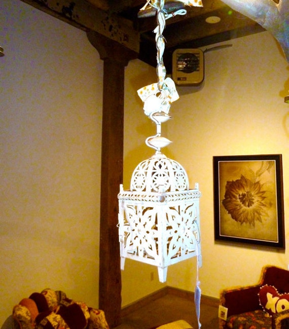 Upcycled Hanging Light Moroccan