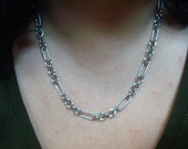 VINTAGE Kirk's Folly Necklace Chain w Star Enhancer
