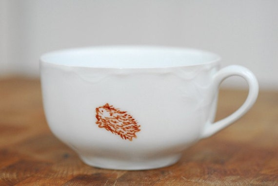 Flying Hamster teacup