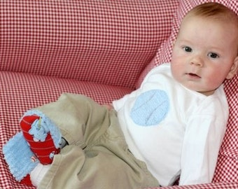 New Cutiepies Couture Custom boutique boys chenille baseball shirt or onsie