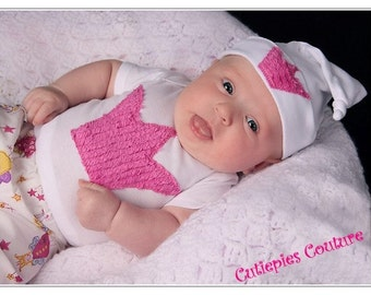 Cutiepies Couture custom Fairy chenille set  Girls NB-5T