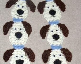 DIY crochet pattern for Wearable Art Dog Scarf by Diane Langan