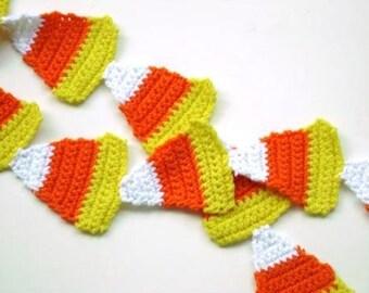Candy Corn Scarf Crochet Pattern pdf