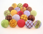 Urban Couture Large Fabric Thumbtacks - Qty. 21